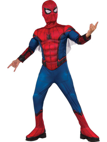 Kids Spider-Man Homecoming - Spider-Man Muscle Chest Costume