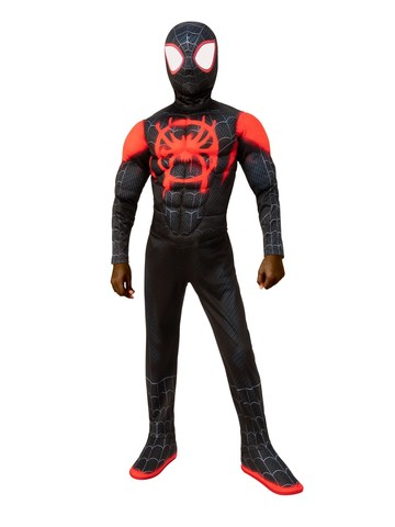 Spider Man Miles Morales Costume - Spider Man: Into the Spider-Verse