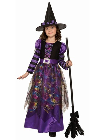 Spider Sparkle Witch Costume