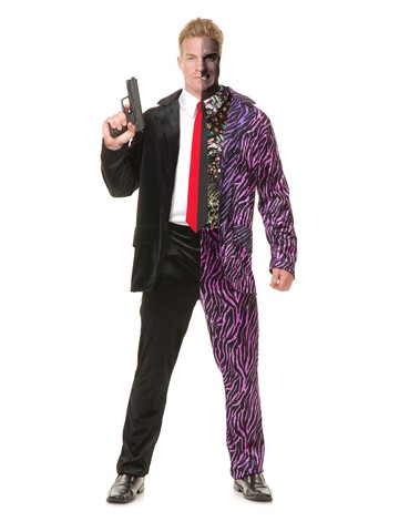 Men's Split Personality Costume