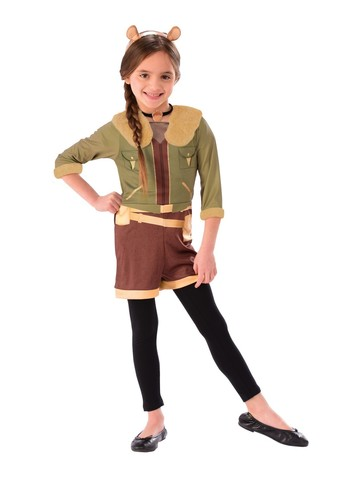 Kid's Squirrel Girl Dress Up Set