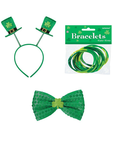 St. Patrick's Day Bobber and Bowtie Bundle