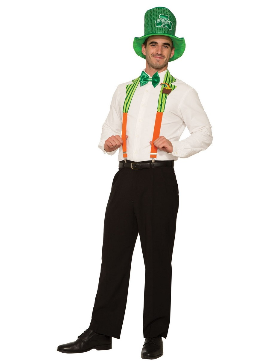 View larger image of St. Pat's Collar and Suspenders for Men