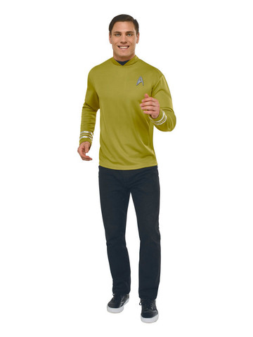 Captain Kirk Deluxe Mens Star Trek Costume
