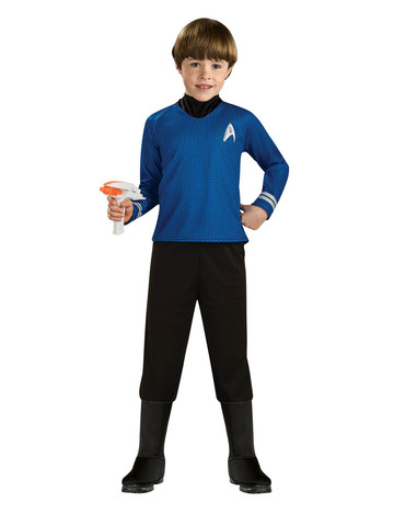 Deluxe Mr. Spock Star Trek Costume for Kids