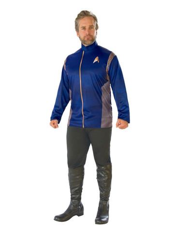 Star Trek Discovery Mens Command Uniform Top