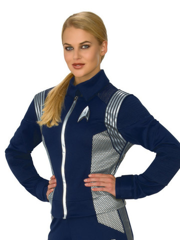 Star Trek Discovery Silver Science Womens Deluxe Uniform
