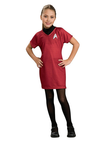 Uhura Deluxe Star Trek Dress Costume for Girls