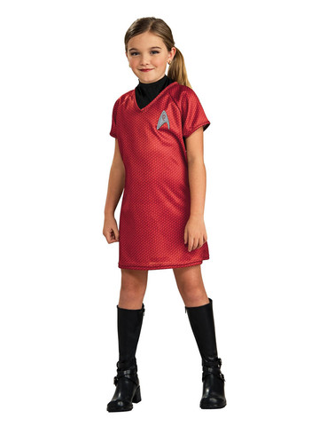 Uhura Star Trek Dress Costume for Girls