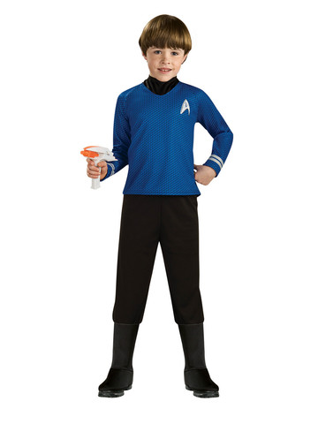Star Trek Blue Shirt Child Costume