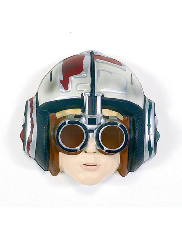 Star Wars Anakin Skywalker Racer Pvc Mask