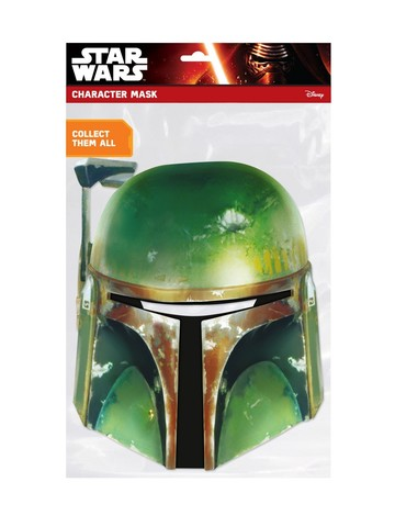Star Wars Boba Fett Stormtrooper Face Mask Accessory