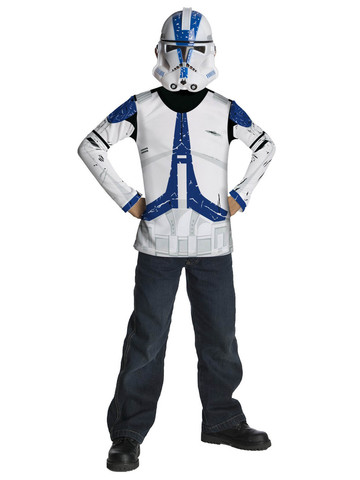 Kid's Star Wars Clone Trooper Costume Top