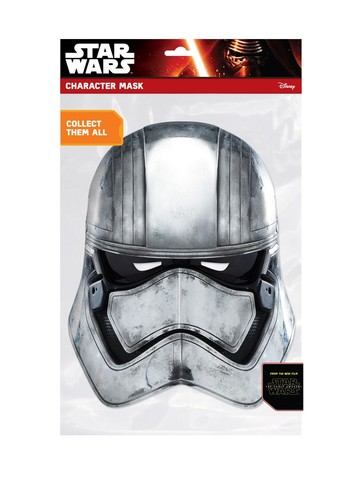 Star Wars Captain Phasma Face Mask Accessory