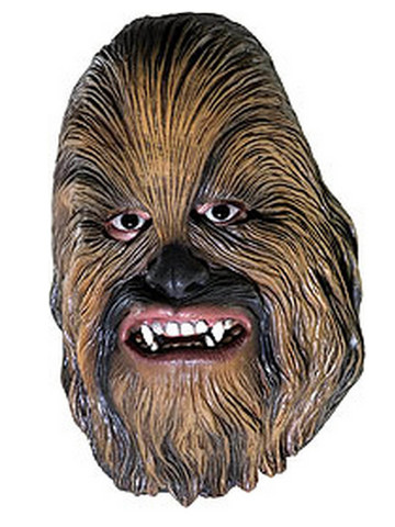 Child Chewbacca Vinyl Mask (3/4)