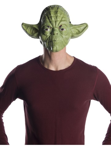 Star Wars Classic Ben Cooper Yoda Mask for Adults