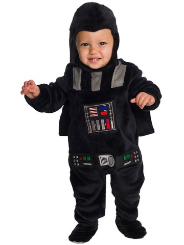 Star Wars Classic Vader Deluxe Plush Costume For Babies