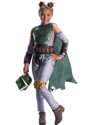 Star Wars Classic Boba Fett Costume for Girls