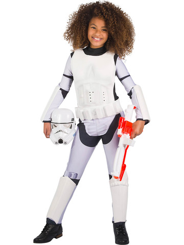 Star Wars Classic Stormtrooper Costume for Girls
