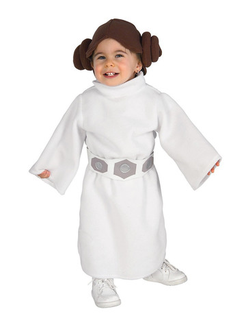 Star Wars Classic Princess Leia Infant Child Costume