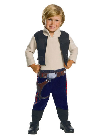 Stars Wars Classic Hans Solo Costume for Toddlers