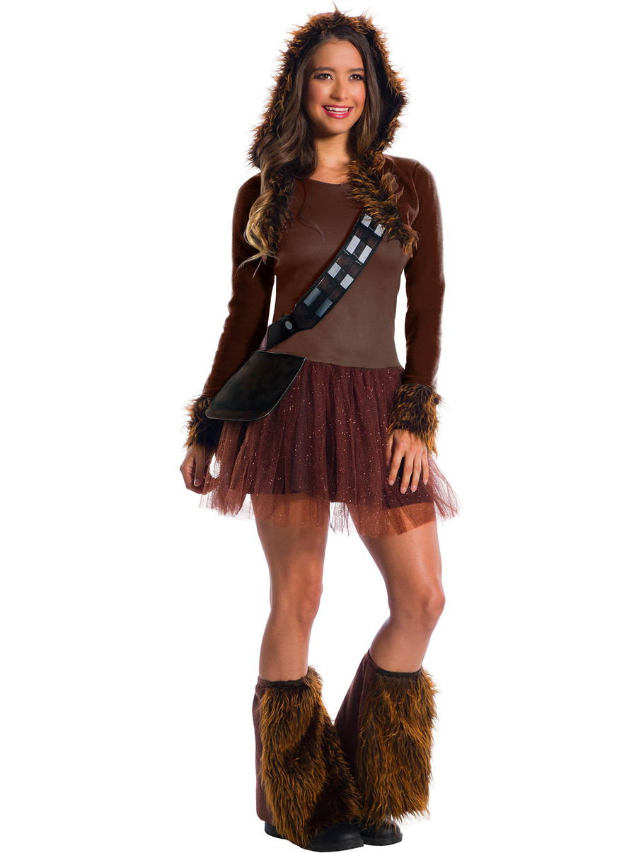 View larger image of Star Wars Classic Chewbacca costume for Women
