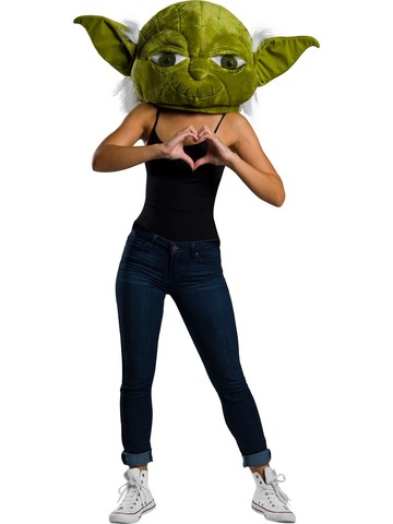 Star Wars Classic Yoda Plush Oversized Mask Accessory