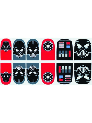 Star Wars - Darth Vader - Nail Stickers