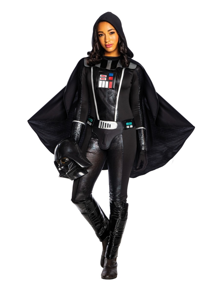 View larger image of Female Darth Vader Deluxe Star Wars Costume for Adults