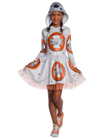 Star Wars BB-8 Episode Seven Kids Costume