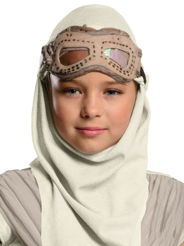 Star Wars Episode VII Childrens Rey Mask and Hood