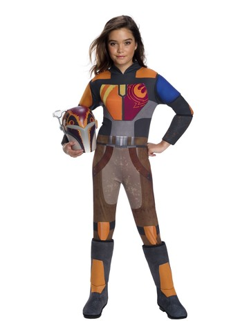 Star Wars: Forces Of Destiny Deluxe Sabine Wren Girls Costume