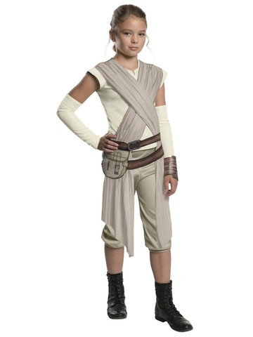 Star Wars: Forces Of Destiny-Dlx Rey Of Jakku Girls Costume