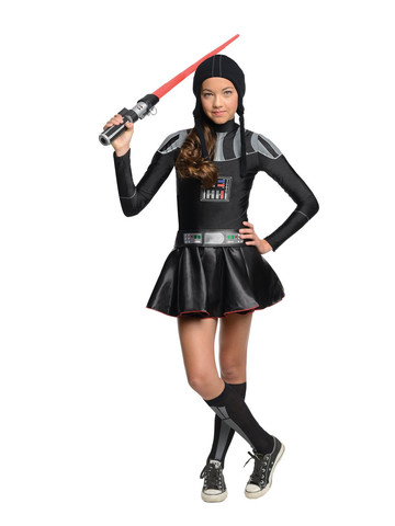 Star Wars Darth Vader Tween Dress Costume