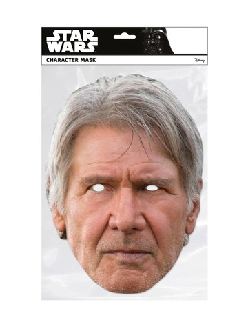 Star Wars Han Solo Facemask Costume Accessory