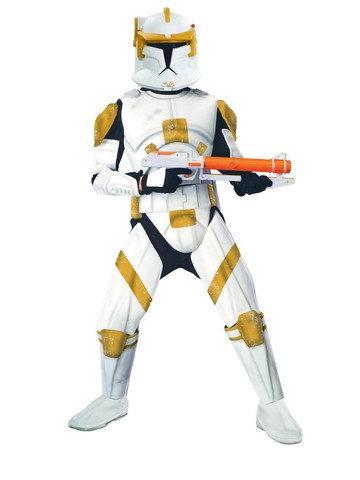 Star Wars - Deluxe Clone Trooper Commander Cody - Adult Costume