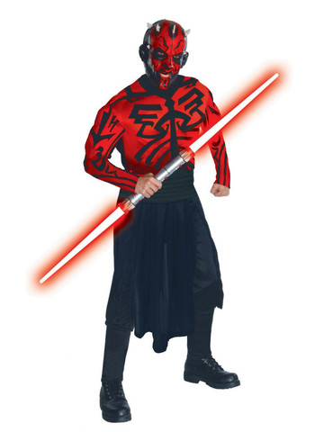 Star Wars Deluxe Darth Maul Costume