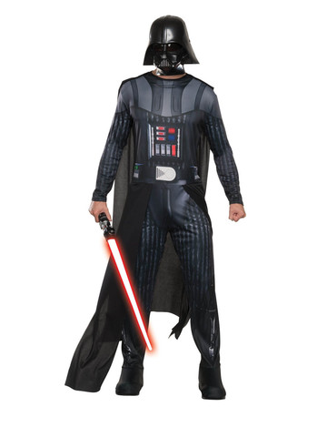 Mens Darth Vader Jumpsuit Costume