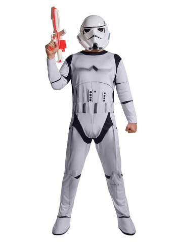 Mens Stormtrooper Jumpsuit Costume