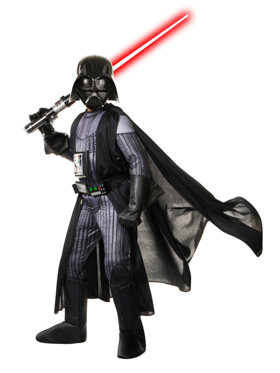 View larger image of Kids Star Wars Premium Darth Vader Costume