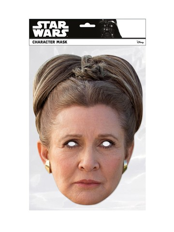 Star Wars Princess Leia Facemask Costume Accessory