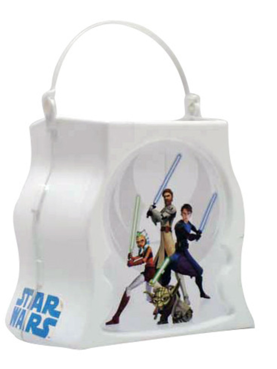 View larger image of Star Wars The Clone Wars - Trick-or-Treat Pail