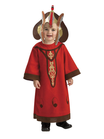 Queen Amidala Star Wars Costume for Toddlers