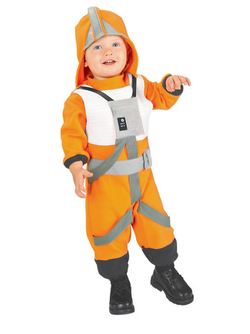 X-Wing Star Wars Fighter Pilot Costume for Toddlers