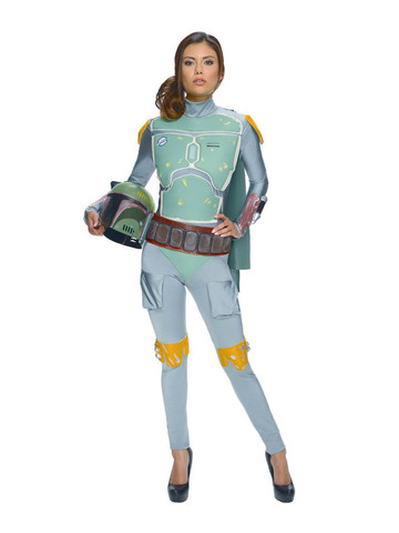Star Wars - Boba Fett - Adult Female Costume