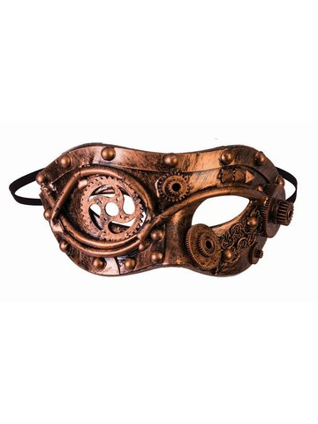 Bronze Gears Steampunk Mask