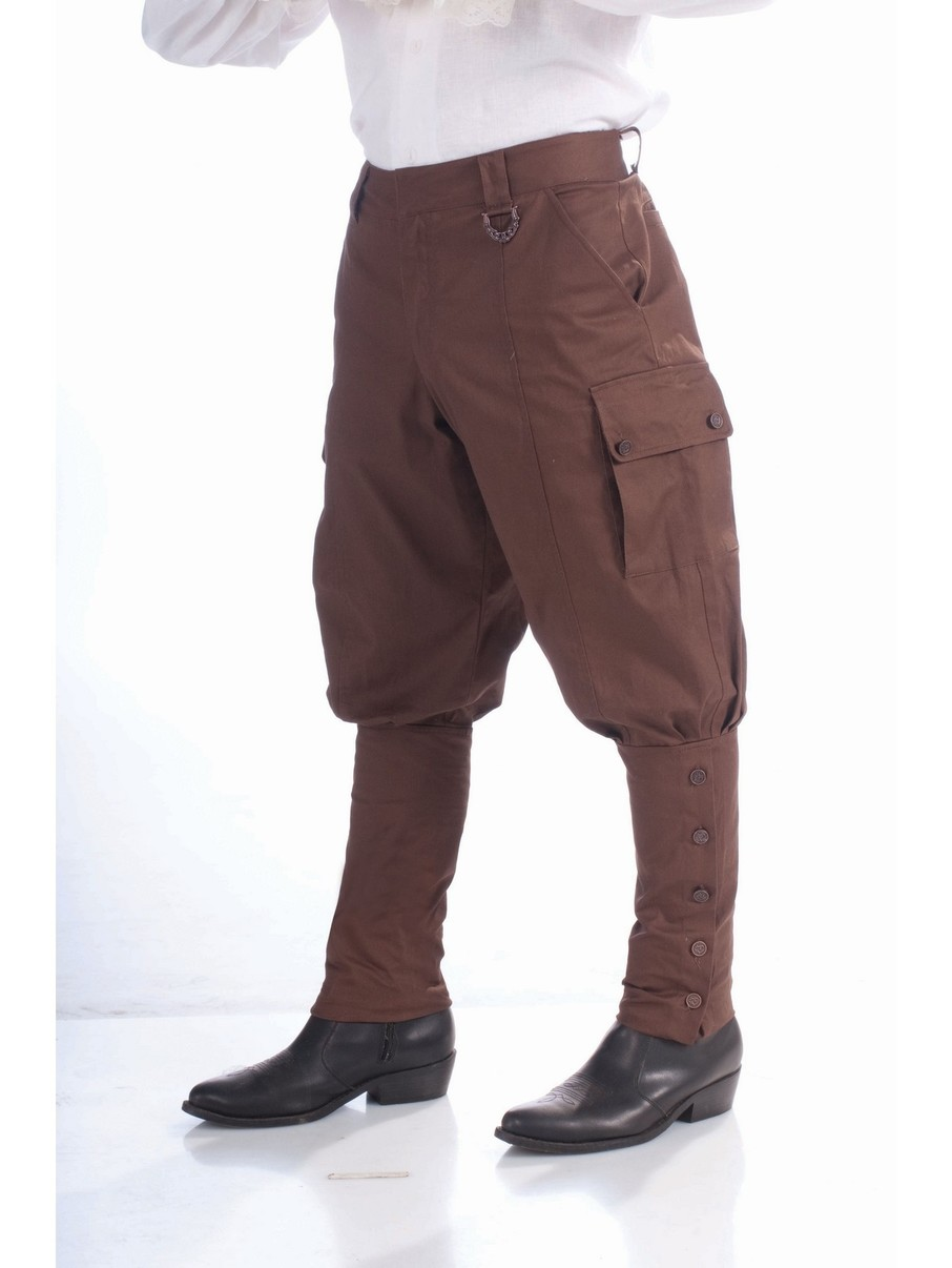 View larger image of Steampunk Pants Brown Costume