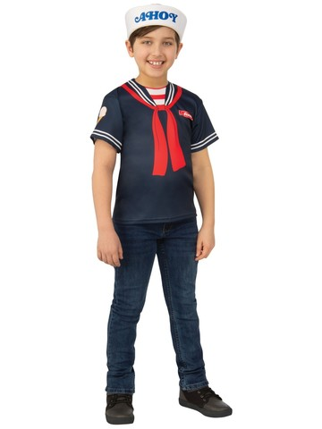 Steve's Scoops Ahoy Kids Uniform Costume - Stranger Things 3
