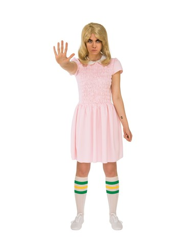 Adult Short Sleeves Eleven Dress - Stranger Things