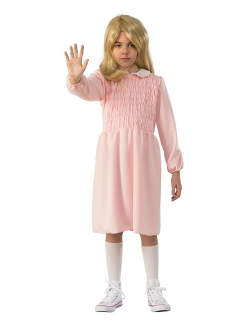 Stranger Things Kids Elevens Dress Costume